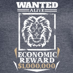 Lion Wanted Alive - Women's Vintage Sport T-Shirt