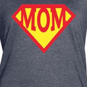 Mothers day superhero super mom tshirt - Women's Vintage Sport T-Shirt