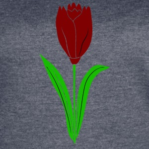 red tulip - Women's Vintage Sport T-Shirt
