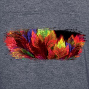 Nature Fire Brush Stroke - Women's Vintage Sport T-Shirt