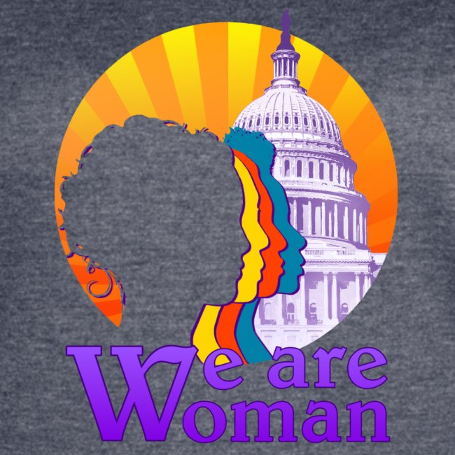 We Are Woman Sporty T