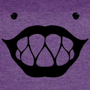 Smiley Monster - Women's Vintage Sport T-Shirt