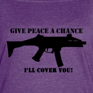 Scorpion Evo - Give Peace a Chance - Women's Vintage Sport T-Shirt