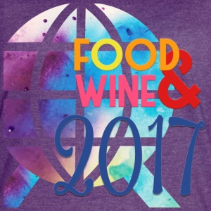 Epcot International Food and Wine Festival 2017 - Women's Vintage Sport T-Shirt
