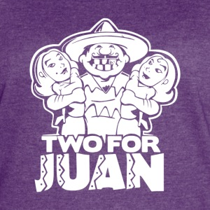 Two For Juan Mexican - Women's Vintage Sport T-Shirt