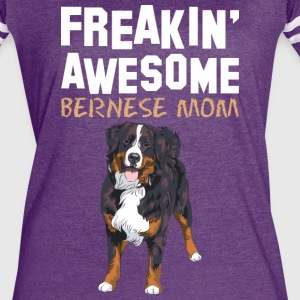 Freaking Awesome Bernese Mom - Women's Vintage Sport T-Shirt