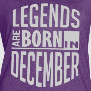 Legends are born in December - Women's Vintage Sport T-Shirt