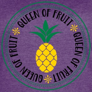 queen of fruit - Women's Vintage Sport T-Shirt