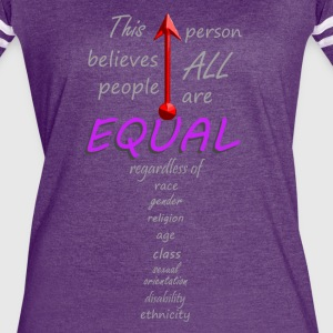 Equal - Women's Vintage Sport T-Shirt