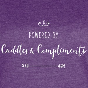 Powered by Cuddles and Compliments - Women's Vintage Sport T-Shirt