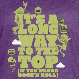 it s a long way to the top - Women's Vintage Sport T-Shirt