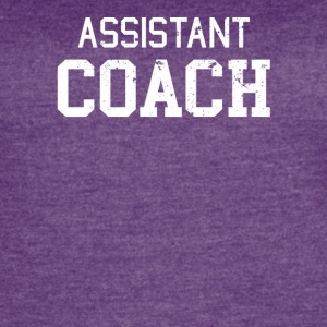 Assistant Coach - Women's Vintage Sport T-Shirt