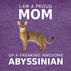 Abyssinian Cat Mom- mother,women cool shirt,hoodie - Women's Vintage Sport T-Shirt