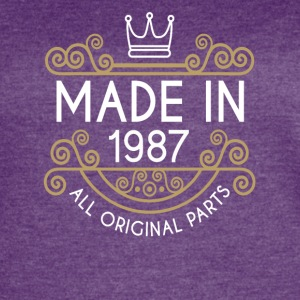 Made In 1987 All Original Parts - Women's Vintage Sport T-Shirt