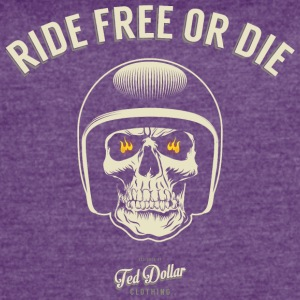Ride Free or Die - Women's Vintage Sport T-Shirt