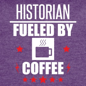 Historian Fueled By Coffee - Women's Vintage Sport T-Shirt