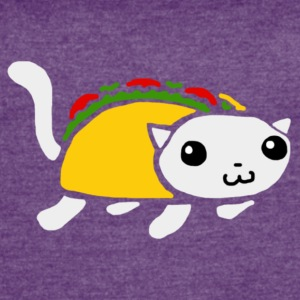 Taco D. Kitty Logo - Women's Vintage Sport T-Shirt