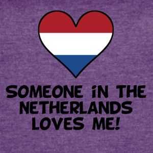 Someone In the Netherlands Loves Me - Women's Vintage Sport T-Shirt