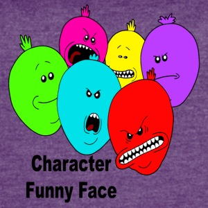 baloons character funny face - Women's Vintage Sport T-Shirt