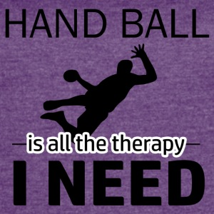 Hand Ball is my therapy - Women's Vintage Sport T-Shirt