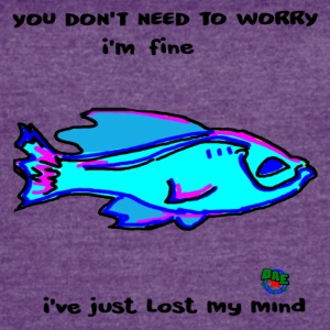 Just Fine Fish - Women's Vintage Sport T-Shirt