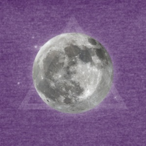 Moon and galaxy - Women's Vintage Sport T-Shirt