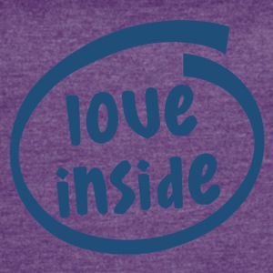 love inside (1806C) - Women's Vintage Sport T-Shirt