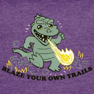 Blaze Your Own Trails - Women's Vintage Sport T-Shirt