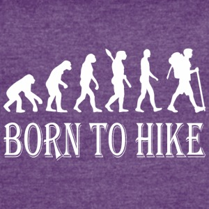 Born To Hike Evolution - Women's Vintage Sport T-Shirt