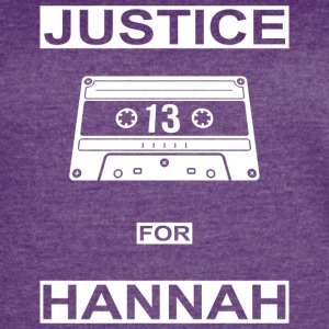 Justice for Hannah - Women's Vintage Sport T-Shirt