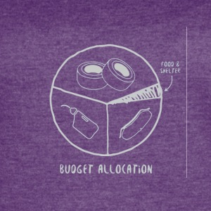 Car fan budget allocation - Women's Vintage Sport T-Shirt