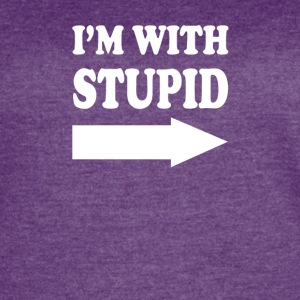 Im With Stupid - Women's Vintage Sport T-Shirt