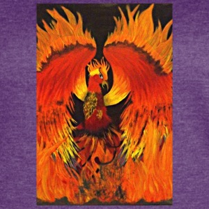 Rising of the Phoenix - Women's Vintage Sport T-Shirt