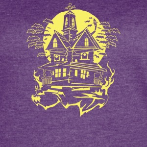 Haunted House - Women's Vintage Sport T-Shirt