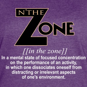 in the zone definition 1 - Women's Vintage Sport T-Shirt