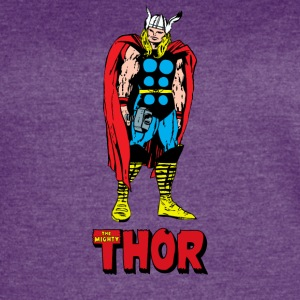 Full Colored 80's The Mighty Thor - Women's Vintage Sport T-Shirt