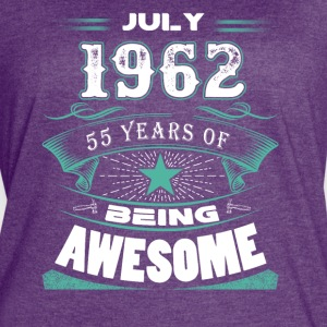 July 1962 - 55 years of being awesome - Women's Vintage Sport T-Shirt