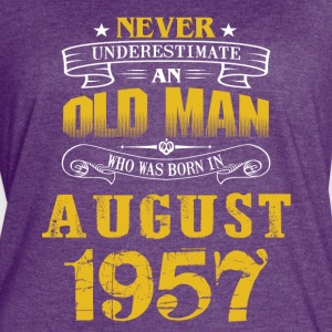 An Old Man Who Was Born In August 1957 - Women's Vintage Sport T-Shirt