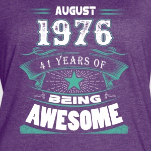 August 1976 - 41 years of being awesome - Women's Vintage Sport T-Shirt
