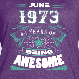 June 1973 - 44 years of being awesome - Women's Vintage Sport T-Shirt
