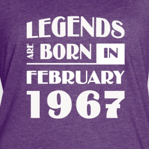 Legends are born in February 1967 - Women's Vintage Sport T-Shirt