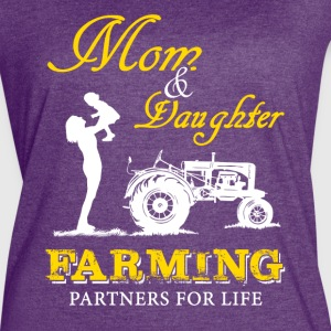 Mom and Son Farmer T Shirts - Women's Vintage Sport T-Shirt