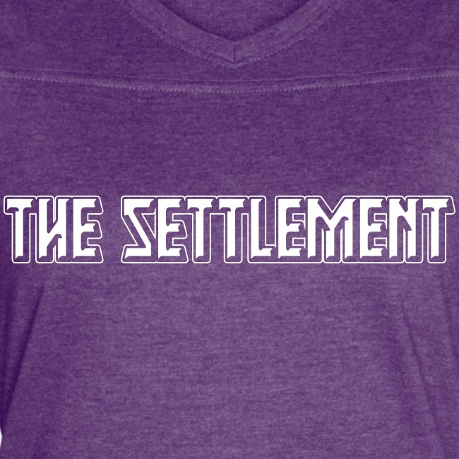 Band Name (Light, One-Color)   The Settlement