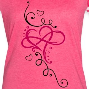 Heart and infinity - Women's Vintage Sport T-Shirt