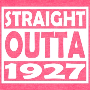 90th Birthday T Shirt Straight Outta 1927 - Women's Vintage Sport T-Shirt