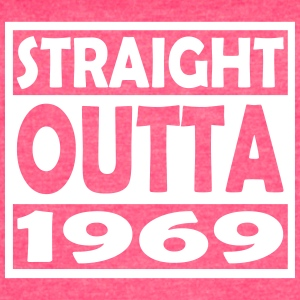 48th Birthday T Shirt Straight Outta 1969 - Women's Vintage Sport T-Shirt