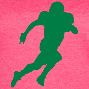 American football silhouette - Women's Vintage Sport T-Shirt