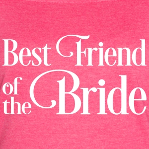 Best Friend of the Bride - Women's Vintage Sport T-Shirt