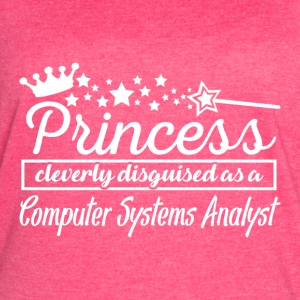 Computer Systems Analyst - Women's Vintage Sport T-Shirt
