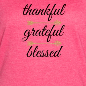 Thankful - Women's Vintage Sport T-Shirt